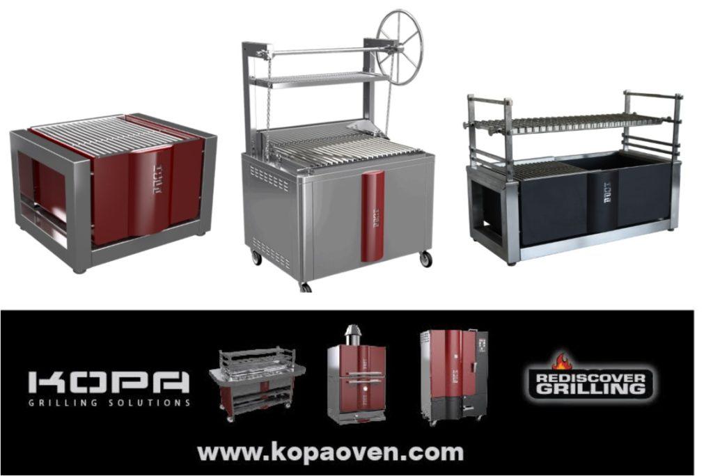 La Gamme KOPA - Grilling Solutions